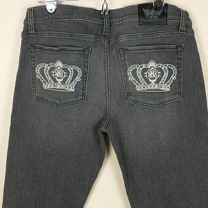 Rock & Republic Berlin grey skinny jeans 31